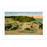 Parque de estado de las dunas de Indiana el lago M Tarjetas Postales