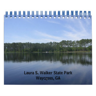 Parque de estado de Laura S. Walker Calendarios