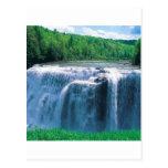Parque de estado de Letchworth del agua Nueva York Postales