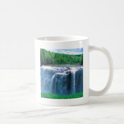 Parque de estado de Letchworth del agua Nueva York Tazas