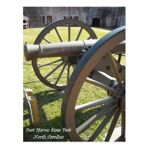 Parque de estado de Macon del fuerte NC Postal