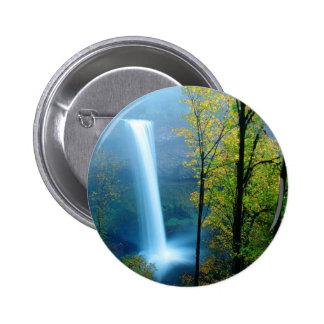 Parque de estado de plata del sur de la cascada pin redondo de 2 pulgadas