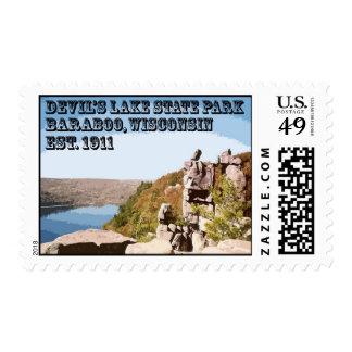 Parque de estado del lago devil's sellos