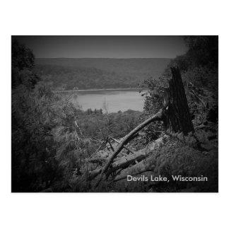Parque de estado del lago devils tarjetas postales