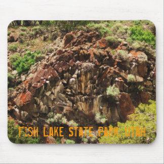 Parque de estado del lago fish, Utah Tapetes De Ratones