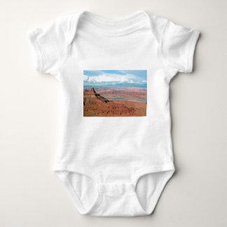 Parque de estado del punto del caballo muerto, body para bebé