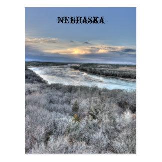 Parque de estado del río Platte, Nebraska Tarjetas Postales