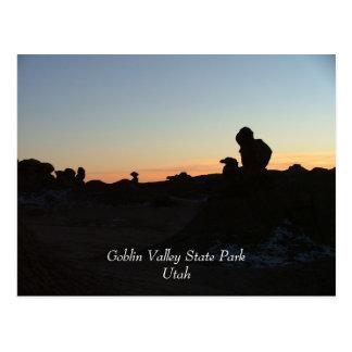 Parque de estado del valle del Goblin Postales