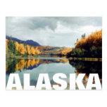 Parque de estado largo del lago Alaska Postales