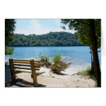 Parque de estado verde de los lagos, NY Felicitación