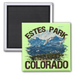 Parque de Estes, Colorado Imán Para Frigorífico