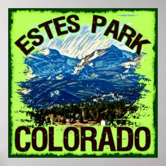 Parque de Estes, poster de Colorado