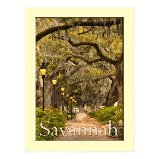 Parque de Forsyth - sabana, GA Postal