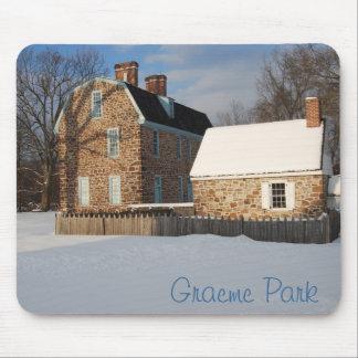 Parque de Graeme en invierno Tapetes De Ratones