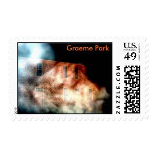 Parque de Graeme en la niebla Sello
