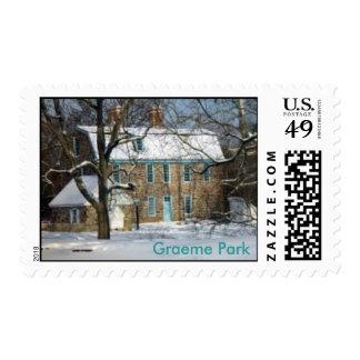 Parque de Graeme en la nieve Envio