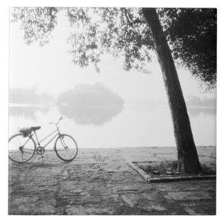 Parque de Hanoi Vietnam, de la bicicleta y de Leni Azulejo Cuadrado Grande