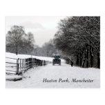 Parque de Heaton, Manchester Postales