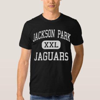 Parque de Jackson - jaguares - centro - Wyoming Playeras