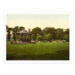Parque de la arboleda, Weston-estupendo-Yegua, Postal