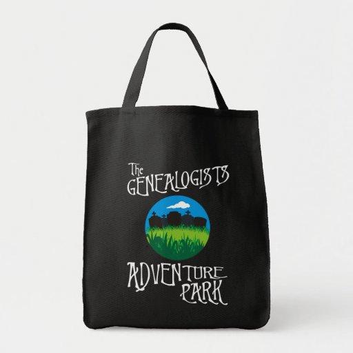Parque de la aventura de los Genealogists Bolsa De Mano
