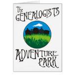 Parque de la aventura de los Genealogists Tarjetas