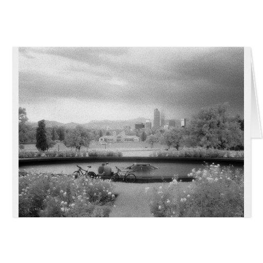 Parque de la ciudad, Denver, Colorado Tarjetas