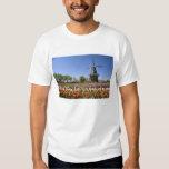 Parque de la isla del molino de viento con los camisas