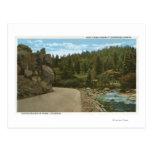 Parque de la montaña de Denver, CO Tarjetas Postales