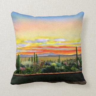 Parque de la montaña de Tucson Arizona Tucson de l Almohada