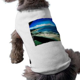 Parque de la playa de Ho'okipa en Maui3 Playera Sin Mangas Para Perro