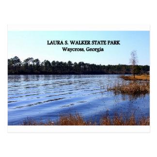 PARQUE de LAURA S. WALKER STATE - Waycross, Postales