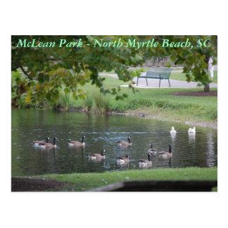 Parque de McLean - Myrtle Beach del norte, Carolin Tarjetas Postales