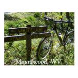 Parque de Mountwood Tarjeta Postal