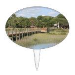 Parque de Ponce de León en el muelle de la Florida Figuras De Tarta