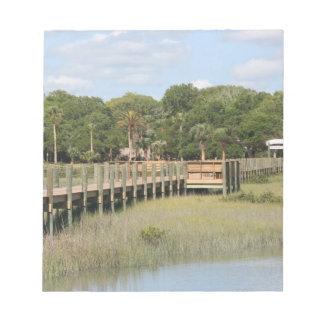 Parque de Ponce de León en el muelle de la Florida Blocs De Notas