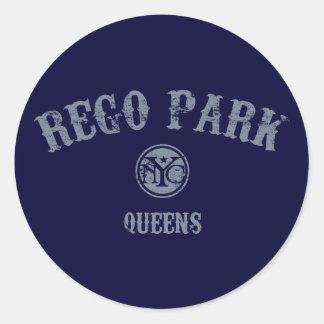 Parque de Rego Pegatina Redonda
