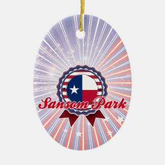 Parque de Sansom TX Ornamentos De Navidad