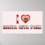 Parque de Santa Rita, CA Posters