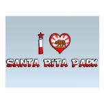Parque de Santa Rita, CA Tarjetas Postales