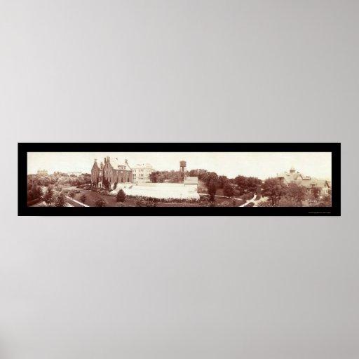 Parque de St Anthony, foto 1902 del manganeso Impresiones