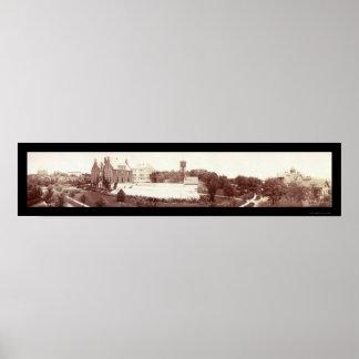Parque de St Anthony, foto 1902 del manganeso Póster