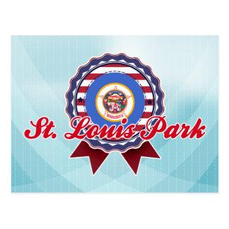 Parque de St. Louis, manganeso Postal