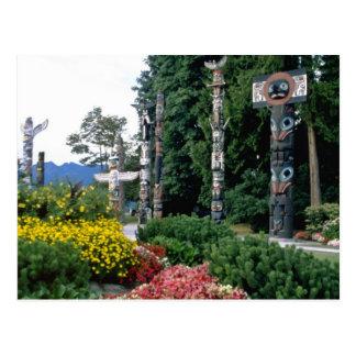 Parque de Stanley rosado, flores de Vancouver Postales