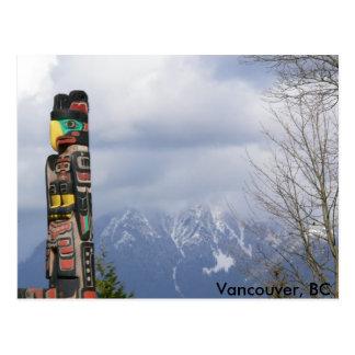 Parque de Stanley, Vancouver, A.C. Postales