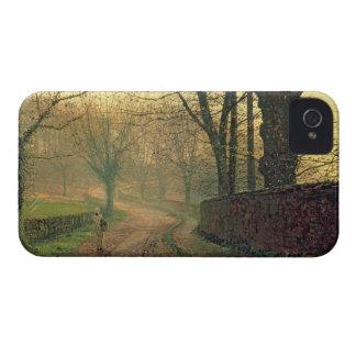 Parque de Stapleton, cerca de Pontefract, c.1878 iPhone 4 Carcasas