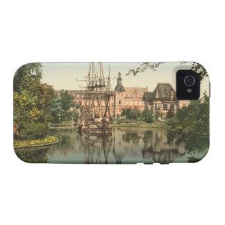 Parque de Tivoli, Copenhague, Dinamarca Case-Mate iPhone 4 Carcasa