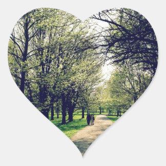 Parque de Tom Sawyer, Louisville Pegatina En Forma De Corazón