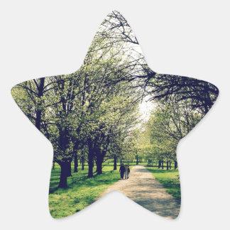 Parque de Tom Sawyer, Louisville Pegatina En Forma De Estrella