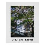 Parque de UPS - parque del bolsillo de Seattle - u Impresiones
